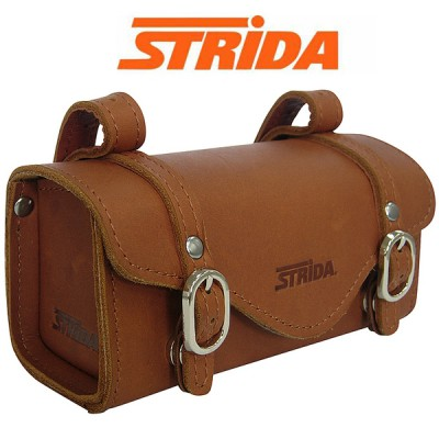 STRIDA ST-SB-008/ST-SB-009【LEATHER SADDLE BAG】