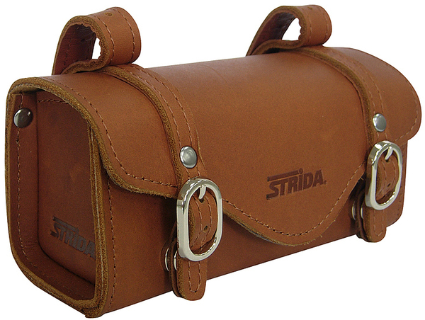 STRIDA LEATHER SADDLE BAG ST-SB008 ブラウンの概観